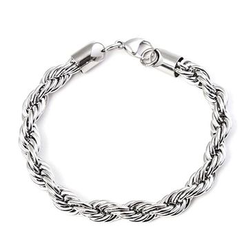 Never Fade 316 Stainless Steel Men Bracelet Jewelry Man Anchor Bracelet Wristband Charm Braclet For Male Accessories Hand Cuff
