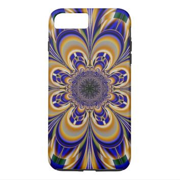 Abstract flower pattern iPhone 7 plus case