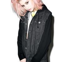 Disturbia Dead End Jacket Black