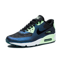 NIKE WOMEN'S AIR MAX 90 HYPERFUSE WC QS - BLACK/VAPOR GREEN/TEAL | Undefeated