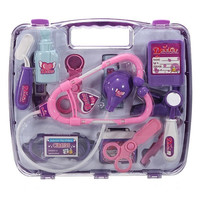 Kids Children Pretended Doctor's Nurse Medical Play Set Carry Case Kit Roll Play Toy Gift