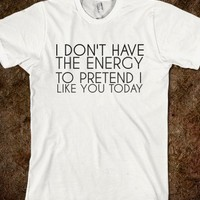 DON'T HAVE THE ENERGY - glamfoxx.com