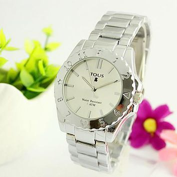 One-nice™ TOUS Hot Vintage Fashion Classic Watch Round Ladies Women Men wristwatch On Sales(With Thanksgiving&Christmas Gift) Si