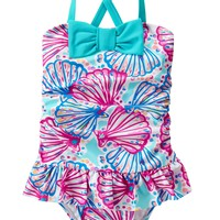 Shell 1-Piece Swimsuit