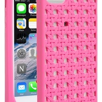 kate spade new york 'woven cane' silicone iPhone 5 & 5s case