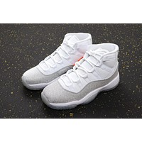 "Air Jordan 11 Retro WMNS ""Metallic Silver"" Sneaker - Best Deal Online"