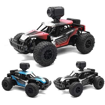 25KM/H 2.4G Electric High Speed Racing RC Car with WiFi FPV 720P Camera HD 1:18 RC Climb Off-Road