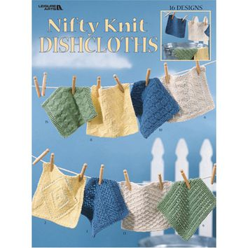 Leisure Arts-Nifty Knit Dishcloths