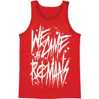 We Came As Romans Men's  Handwritten Mens Tank Red