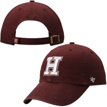 47 Brand Harvard Crimson Clean Up Adjustable Hat - Crimson