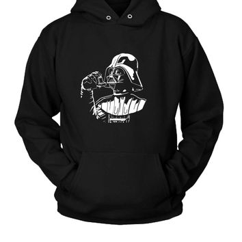 Funny Star Wars Darth Vader Joke Hoodie Two Sided