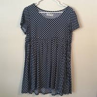 American Apparel polka-dot babydoll dress