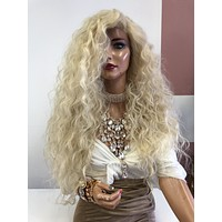 "Blonde Wavy Lace FrontWig 24"" 0319 Level Up"