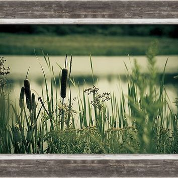 Quite Lake Framed Print