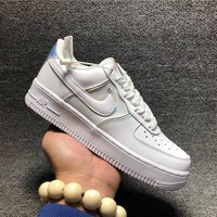 KUYOU NIKE AIR FORCE 1 &x27; 07 LV8 4 AF1 AT6147 100 Nike air force one laser tail dual
