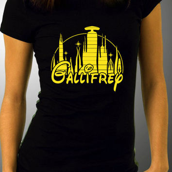 Dr Who Gallifrey Disney Crossover - Adults T-Shirts