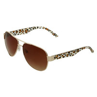 Glitter Avaitor Sunglasses | Shop Accessories at Wet Seal