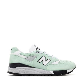 HCXX NEW BALANCE 998 MINT PIG SUEDE MADE IN USA M998XAC
