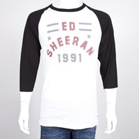 Ed Sheeran Webstore - All Star Slim Fit Raglan | EdSheeran.com