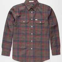 Matix Wesson Mens Flannel Shirt Blood  In Sizes