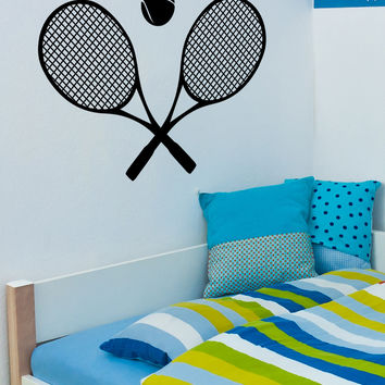 Vinyl Wall Decal Sticker Tennis #OS_MB456