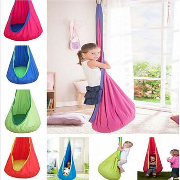 Kids Indoor Outdoor Hanging Child Swing Seat