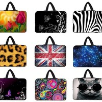 10 12 13 15 inch laptop bag notebook case 15.6 tablet sleeve case for macbook pro/air /surface pro 3/sony vaio/laptop/hp