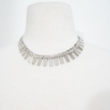 Silver SPine Necklace