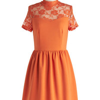 Party in Persimmon Dress
