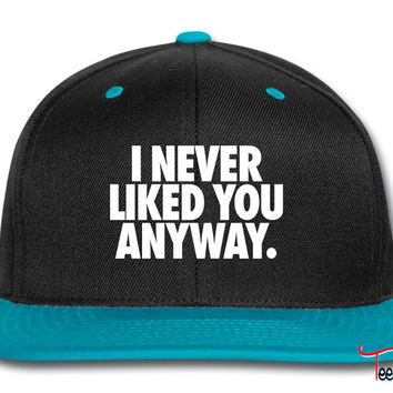 I Never Liked You Anyway Snapback