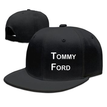 Commemorate Famouse Actor Tommy Ford Logo Printing Unisex Adult Womens Baseball Cap Mens Fitted Hats