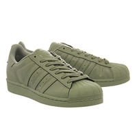Adidas Superstar 1 Pharrell Supercolor Shift Olive - His trainers