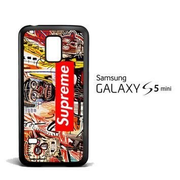 supreme to release collection featuring basquiats V1635 Samsung Galaxy S5 Mini Case