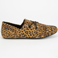 Volcom Soul Mates Womens Shoes Leopard  In Sizes