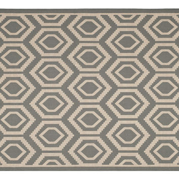 Lenny Outdoor Rug, Gray, Area Rugs