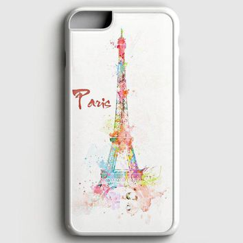 Simple Paris Design iPhone 6 Plus/6S Plus Case