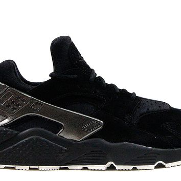 "Nike Air Huarache Run PRM ""Black-Sail"""