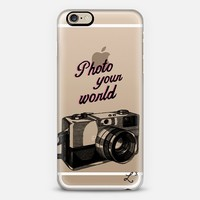 Photo Your World - Travel The World iPhone 6 case by Love Lunch Liftoff | Casetify