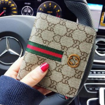 Small Women Spoof GUCCI Fashion Wallet