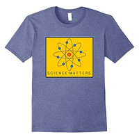 SCIENCE MATTERS Atom T-Shirt by Scarebaby