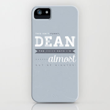 Castiel Quote iPhone & iPod Case by lucyjayne