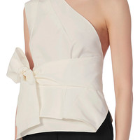 Narciso Rodriguez Origami Wrap Top at INTERMIX | Shop Now | Shop IntermixOnline.com