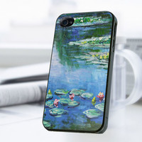 Monet Water Lilies iPhone 4 Or 4S Case