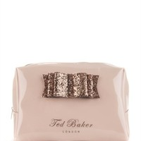 Glitter bow large wash bag - TWINKEE by Ted Baker