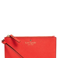 kate spade new york 'cedar street - slim bee' leather wristlet | Nordstrom