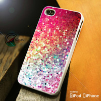Colorful Glitter iPhone 4 5 5c 6 Plus Case, Samsung Galaxy S3 S4 S5 Note 3 4 Case, iPod 4 5 Case, HtC One M7 M8 and Nexus Case
