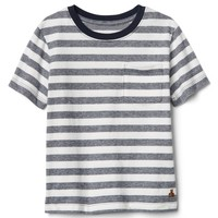 Stipe Pocket T-Shirt|gap