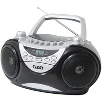 Naxa Portable Cd Player Am And Fm Radio & Cassette Player And Recorder