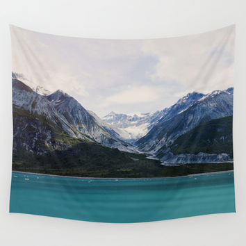 Alaska Wilderness Wall Tapestry by Leah Flores