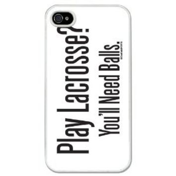 Lacrosse iPhone 4 | iPhone 4S Case Play Lacrosse? You'll Need Balls